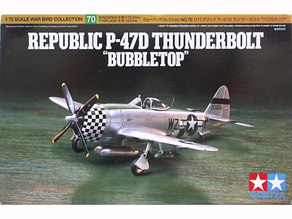 Republic P-47D Thunderbolt - Ref.: TAMI-60770