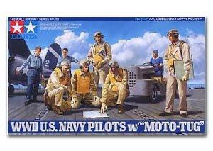 WWII USN Pilots w/Tug  (Vista 1)