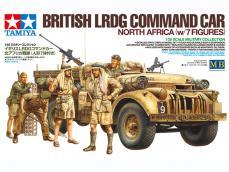 British LRDG Command Car - North Africa - Ref.: TAMI-32407