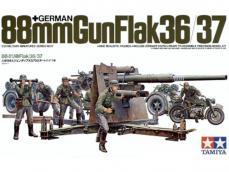 Antiaereo Aleman 36/37 de 88mm - Ref.: TAMI-35017