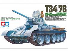 Tanque Ruso T34/76 - Ref.: TAMI-35049
