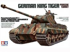 German King Tiger Porsche Turret - Ref.: TAMI-35169