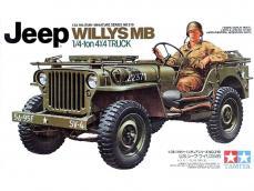 Jeep Wilys MB 1/4 Ton 4x4 Truck - Ref.: TAMI-35219