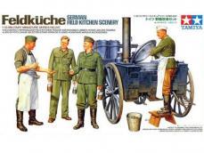 Cocina de campaña Alemana con figuras - Ref.: TAMI-35247