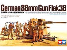 Cañon Aleman  88 mm Flak36 - Ref.: TAMI-35283