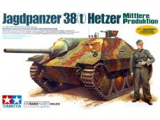 Jagdpanzer 38(t) Hetzer Mid. Production - Ref.: TAMI-35285