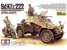 German Sd.Kfz.222 North African Campaign - Ref.: TAMI-35286