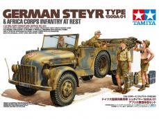 Steyr 1500A/01 & Africa Inf Rest - Ref.: TAMI-35305
