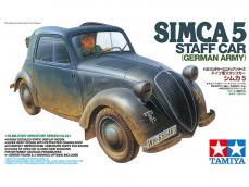 Simca 5 Staff Car - German Army - Ref.: TAMI-35321