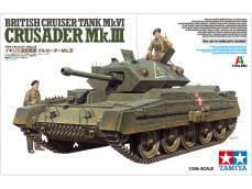Tanque Británico Crusader Mk.III - Ref.: TAMI-37025