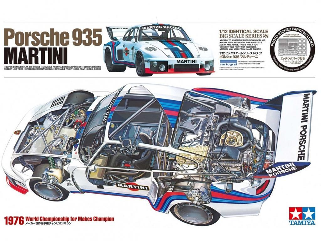 Porsche 935 Martini (Vista 1)