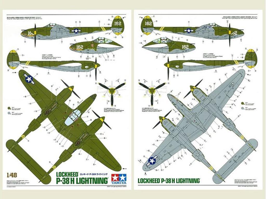Lockheed P-38H Lightning  (Vista 4)