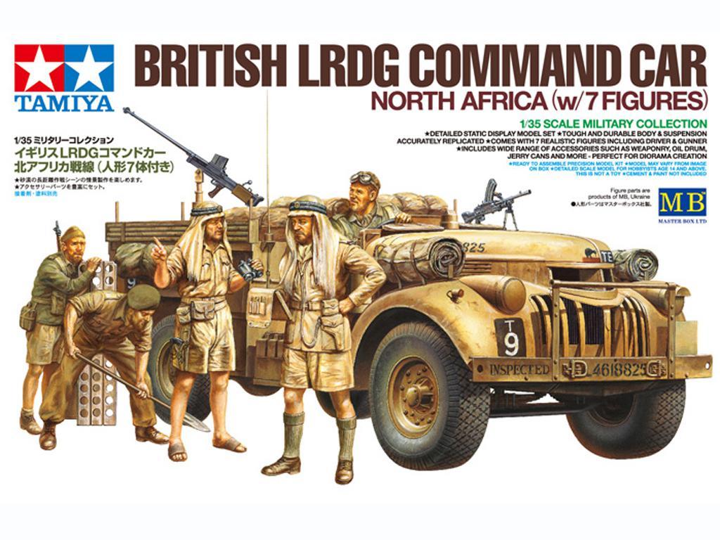 British LRDG Command Car - North Africa (Vista 1)