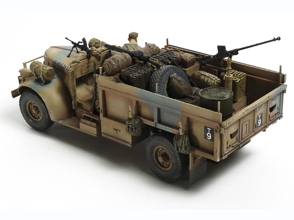 British LRDG Command Car - North Africa (Vista 4)