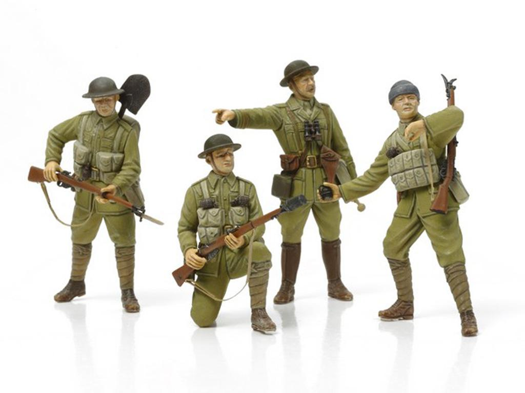 Infanteria Britanica + equipamiento (Vista 2)
