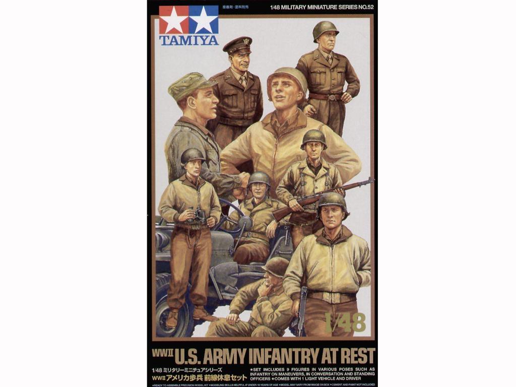 Infanteria Estadounidense en descanso (Vista 1)