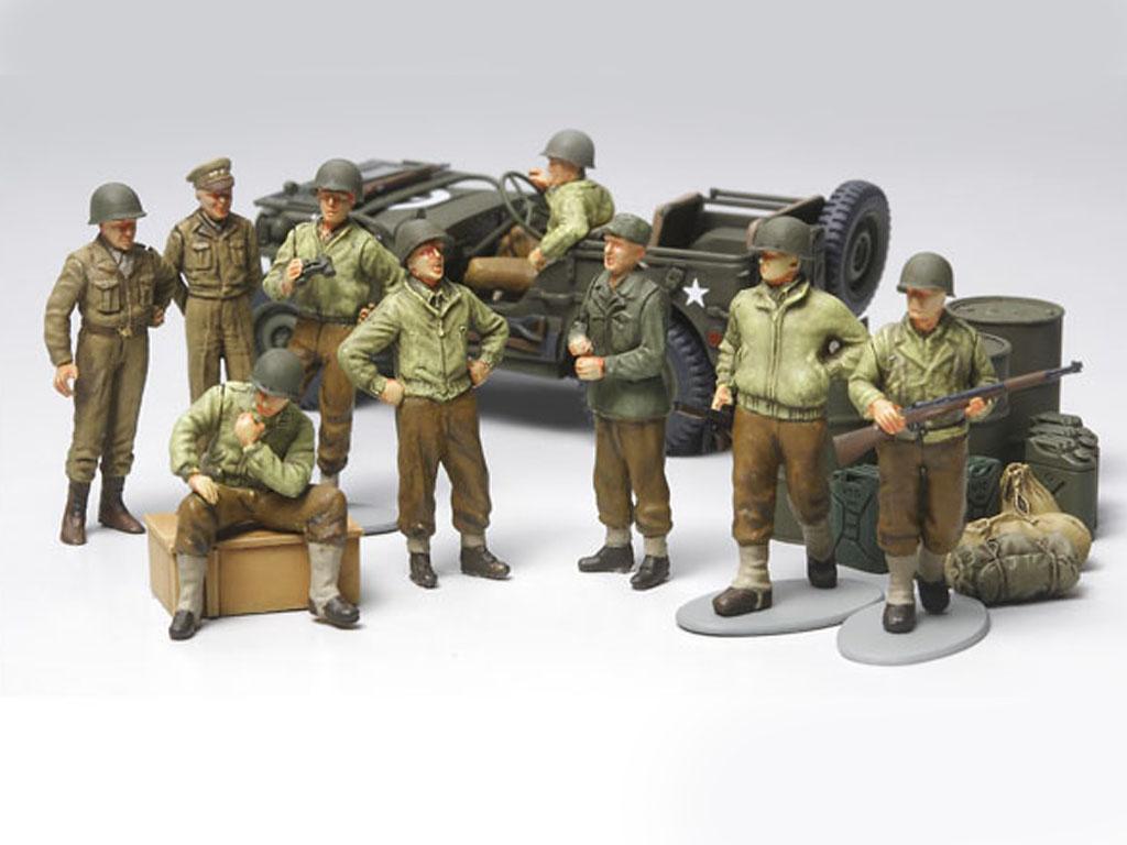 Infanteria Estadounidense en descanso (Vista 2)