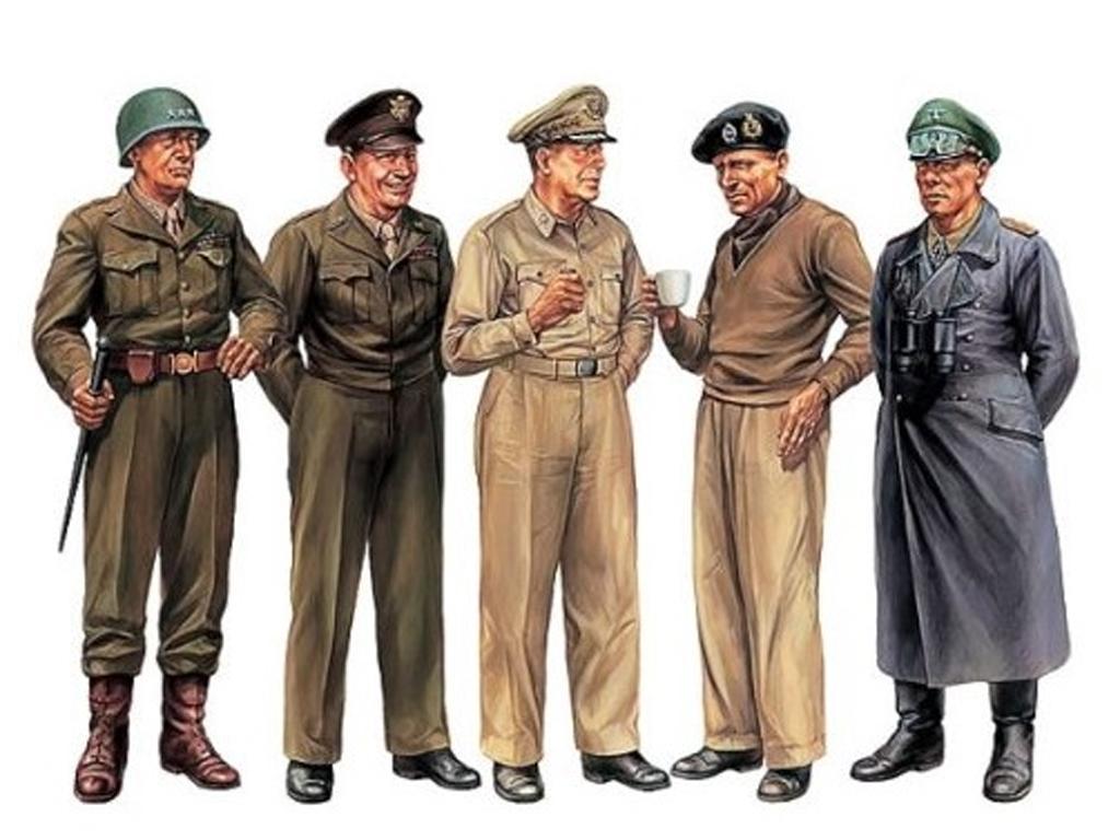 Set Generales Famosos (Vista 2)