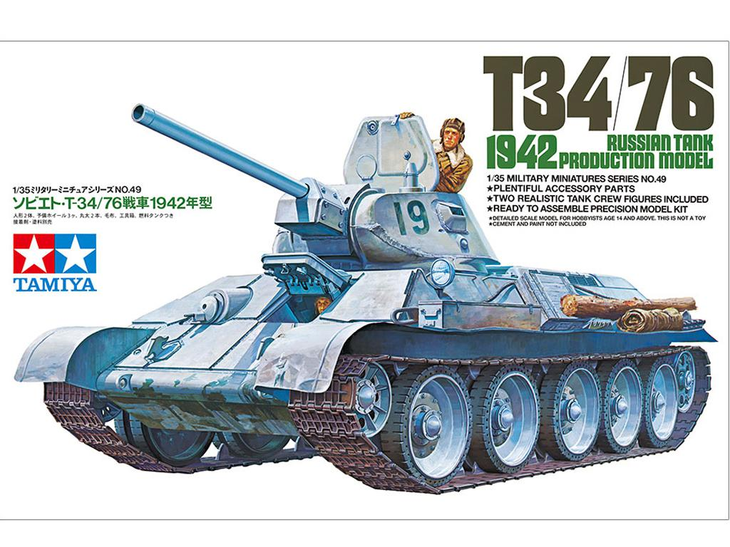 Tanque Ruso T34/76 (Vista 1)