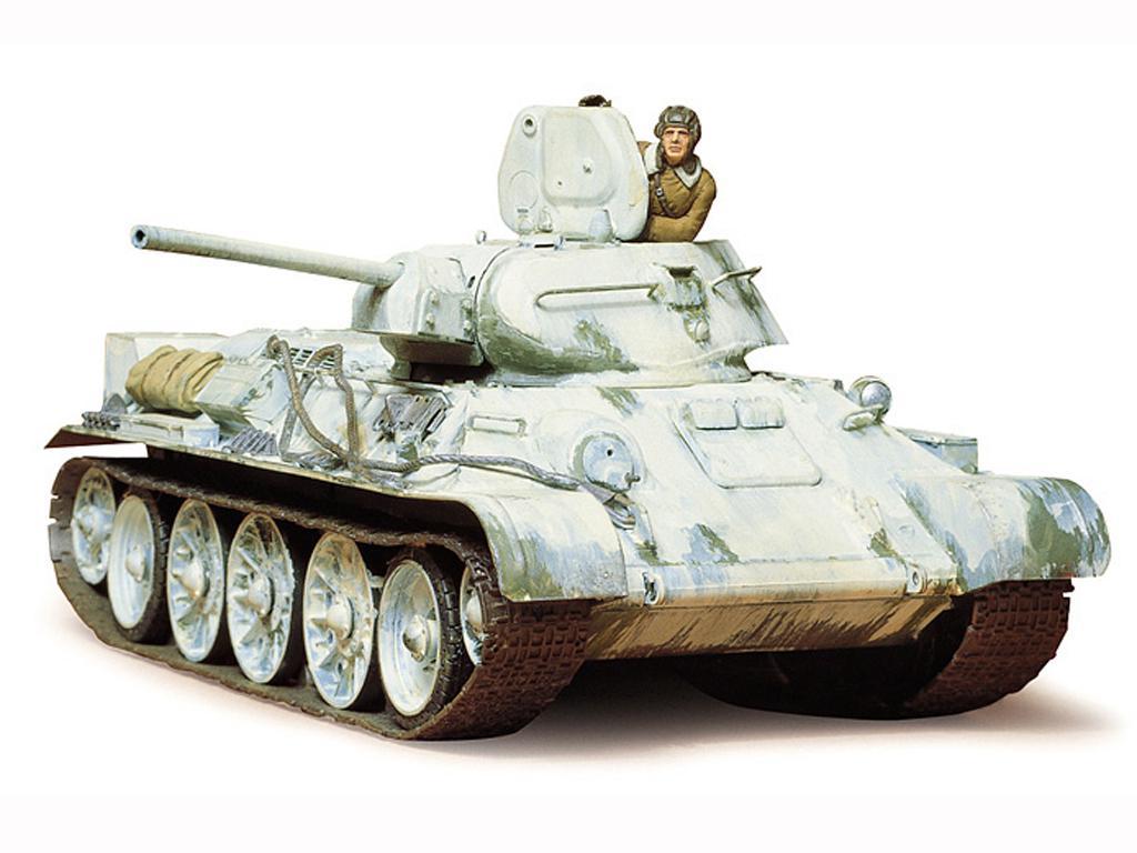 Tanque Ruso T34/76 (Vista 3)