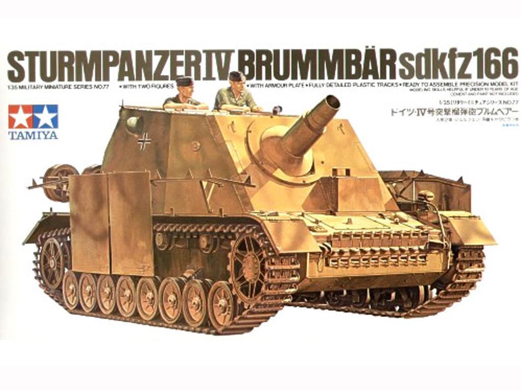 Sturmpanzer IV Brummbar (Vista 1)