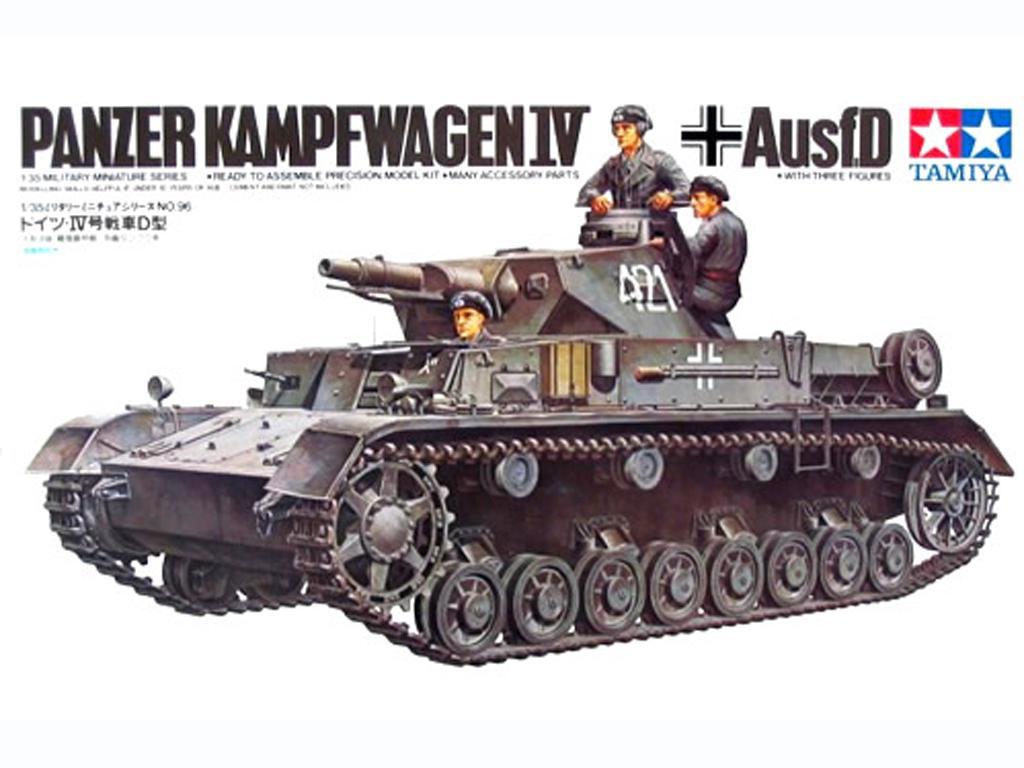 Panzer IV Aleman Ausf. D (Vista 1)