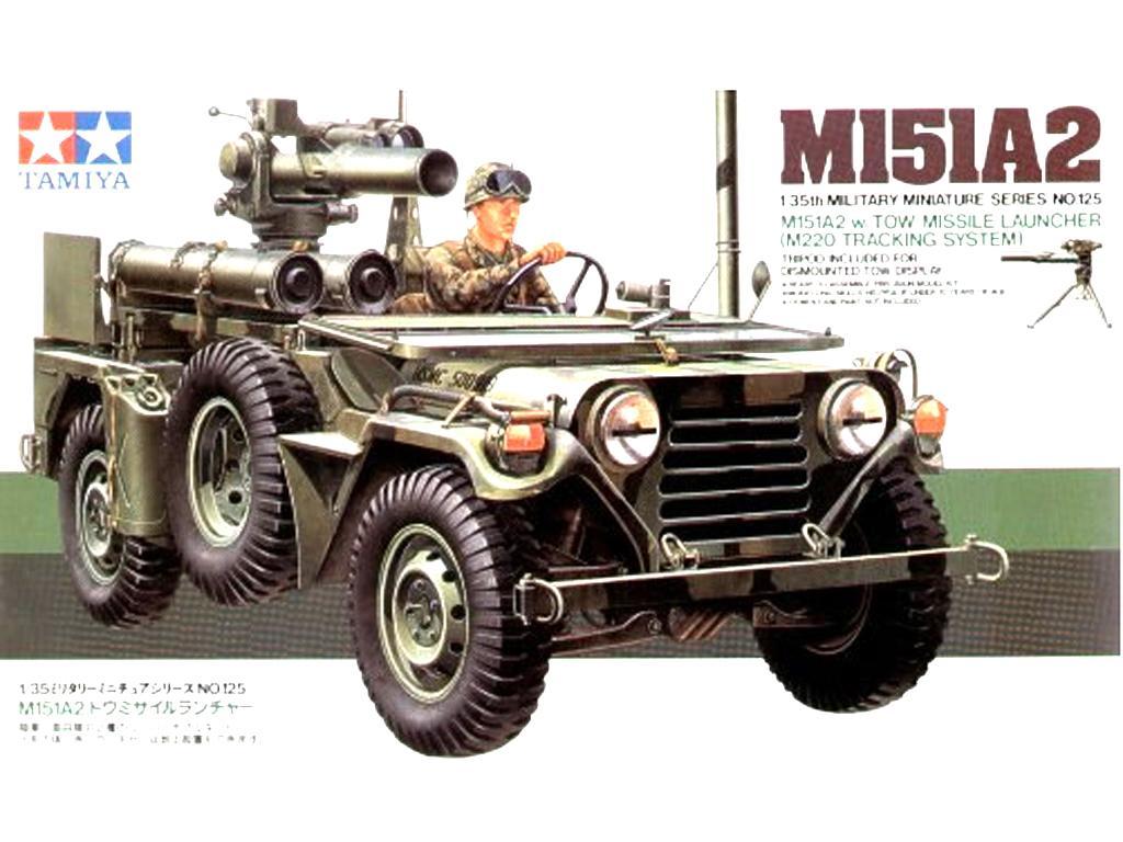 U.S. M151A2 Lanzador de misiles (Vista 1)