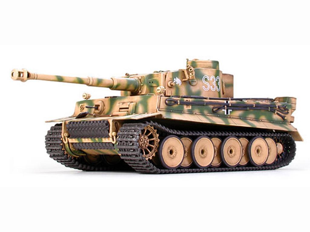 Tanque Aleman Tiger I ultima versión (Vista 2)