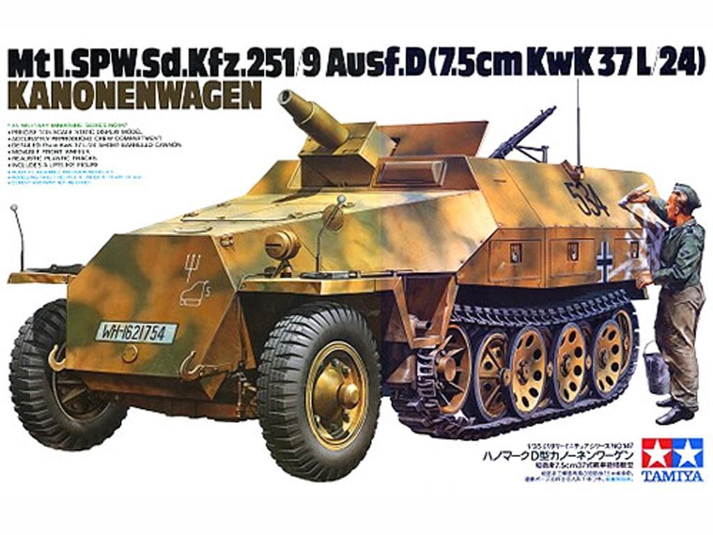 Vehículo semioruga Sd.Kfz. 251 (Vista 1)