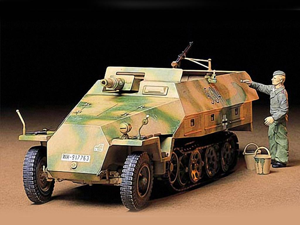 Vehículo semioruga Sd.Kfz. 251 (Vista 2)