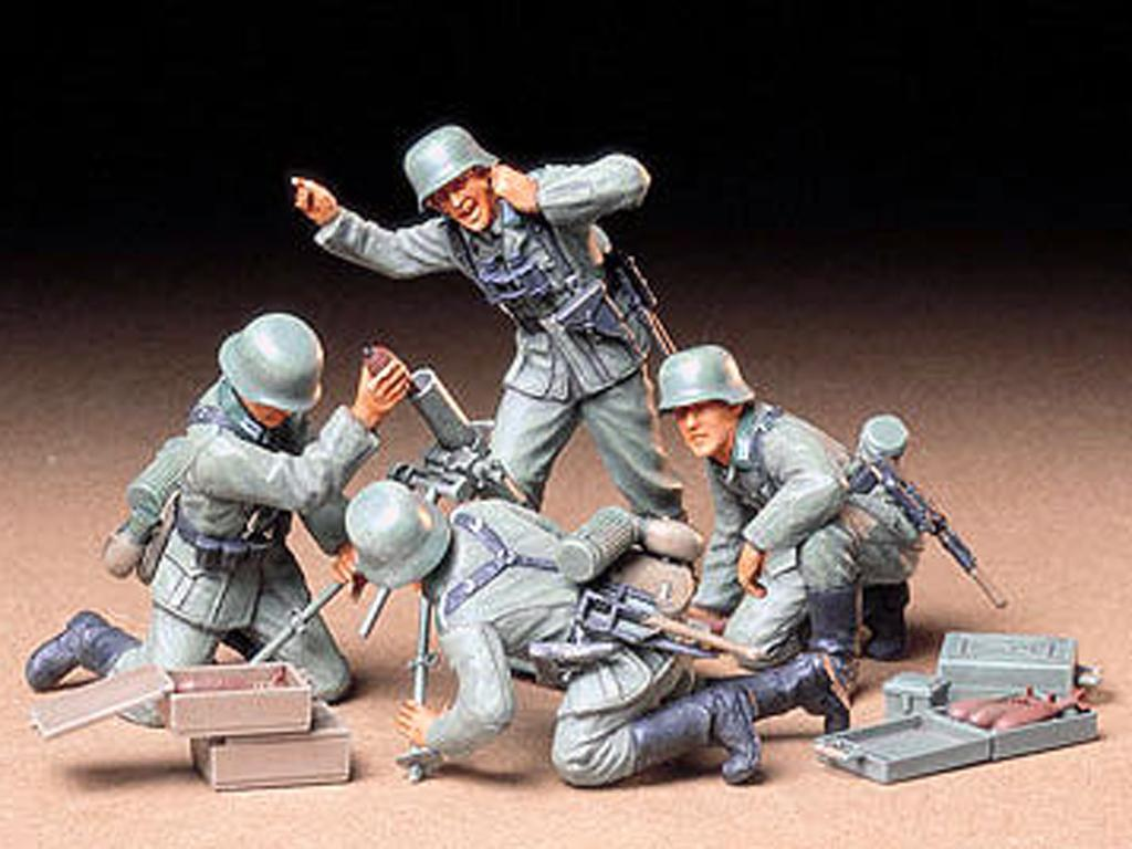 Equipo mortero Alemán (Vista 2)