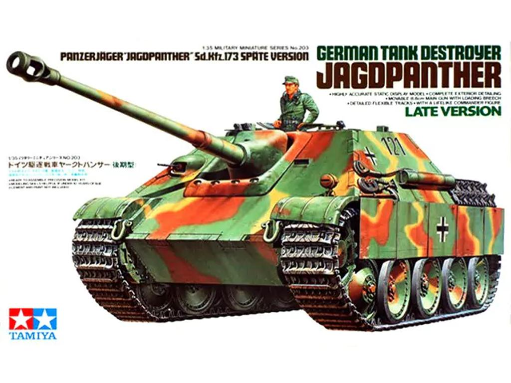 German Tank Destroyer Jagdpanther (Vista 1)