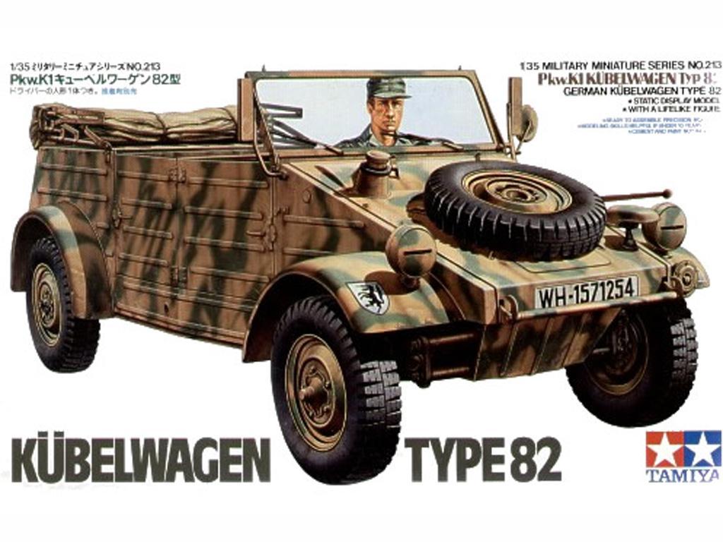 Kubelwagen Type 82 (Vista 1)