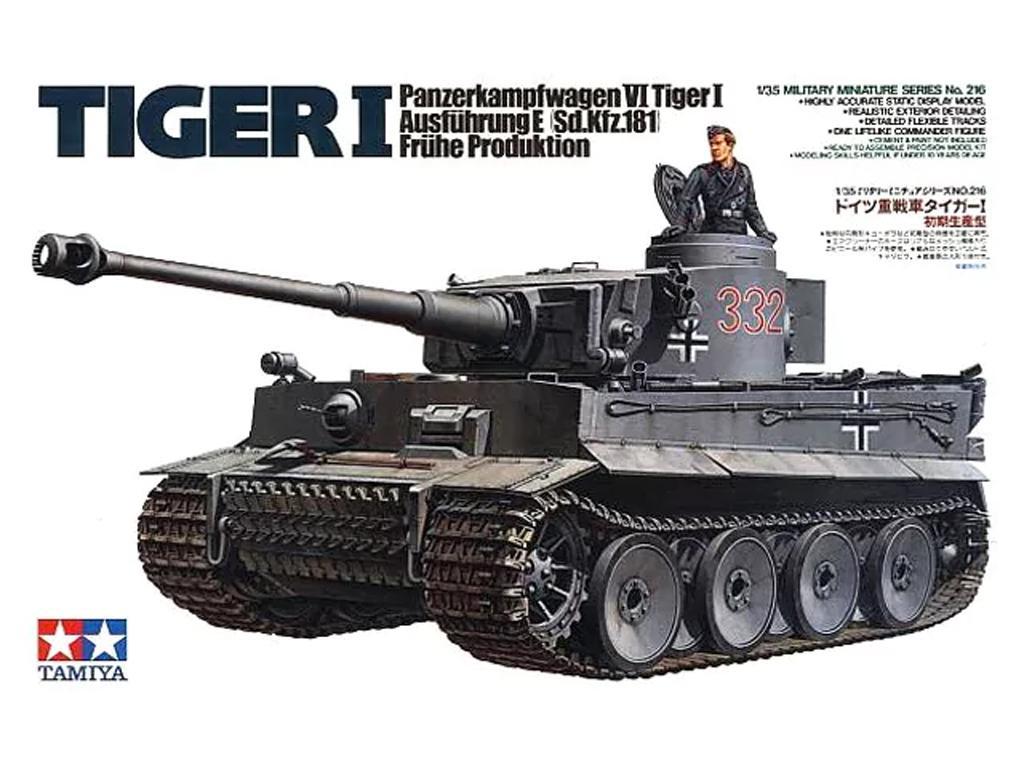 Panzerkamp wagen VI Tiger I (Vista 1)