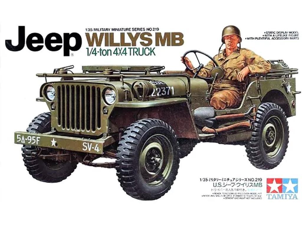 Jeep Wilys MB 1/4 Ton 4x4 Truck (Vista 1)