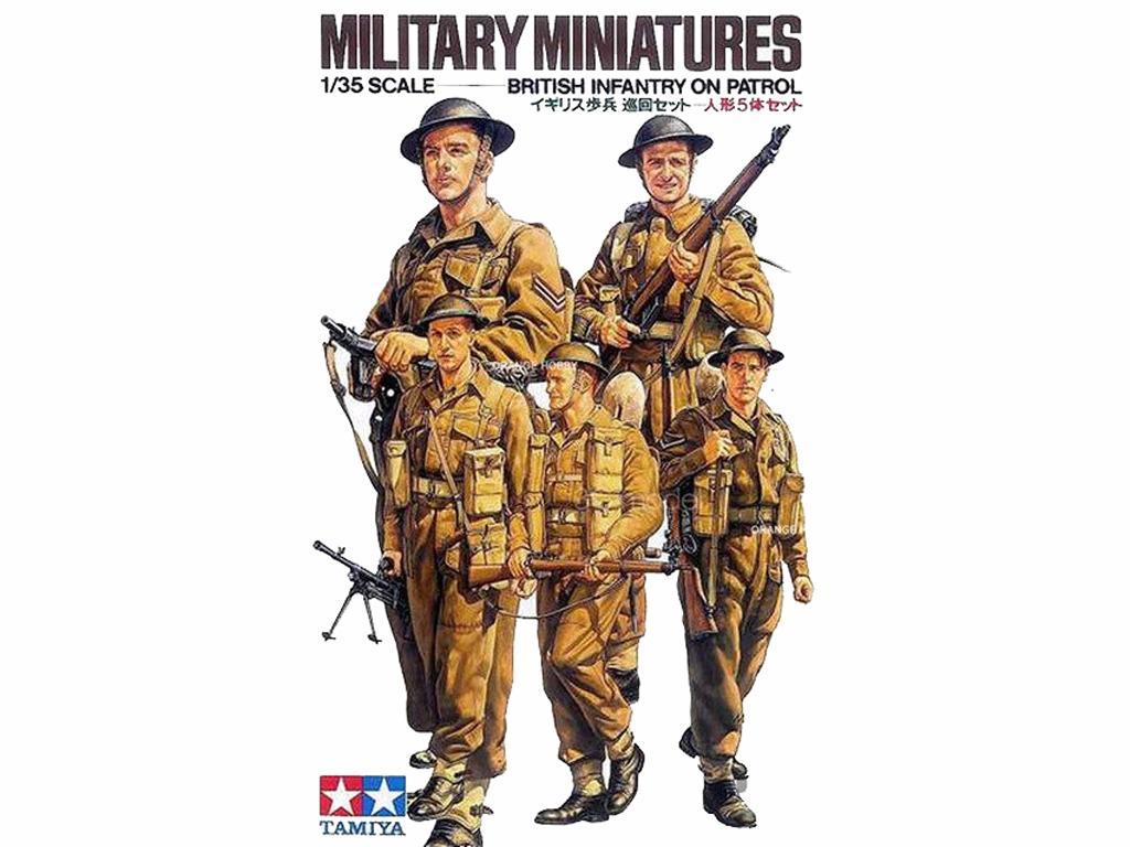Infantería Británica (Vista 1)