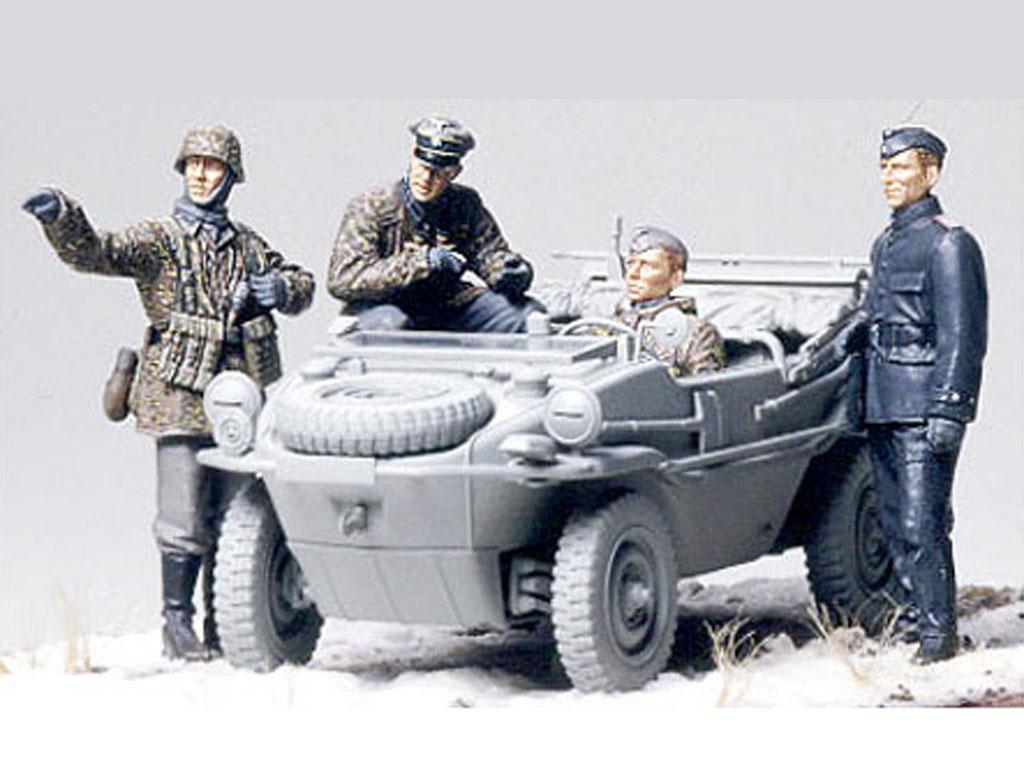Unidad Alemana de Tanquistas en observac (Vista 2)