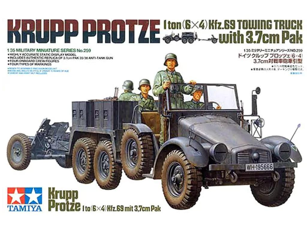 Krupp Protze  1 Ton. 6x4 Kfz.69 Towing T (Vista 1)