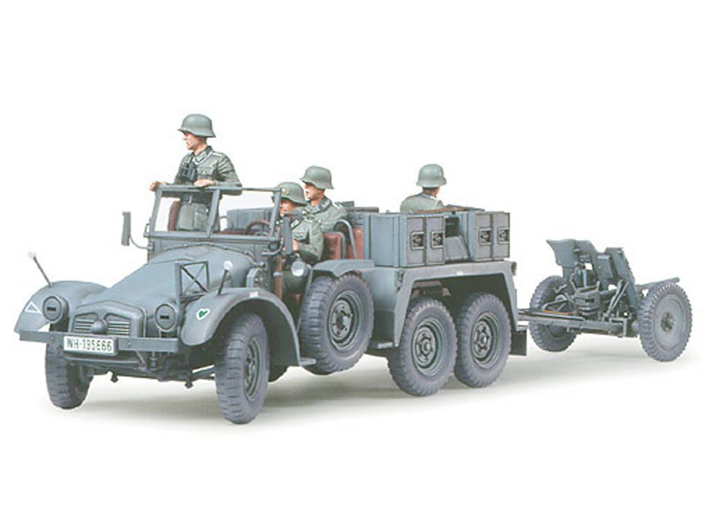Krupp Protze  1 Ton. 6x4 Kfz.69 Towing T (Vista 2)