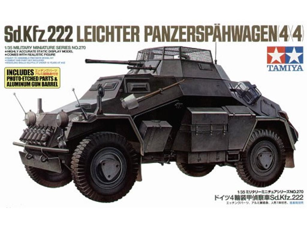 German Armored Car Sd. Kfz. 222 (Vista 1)