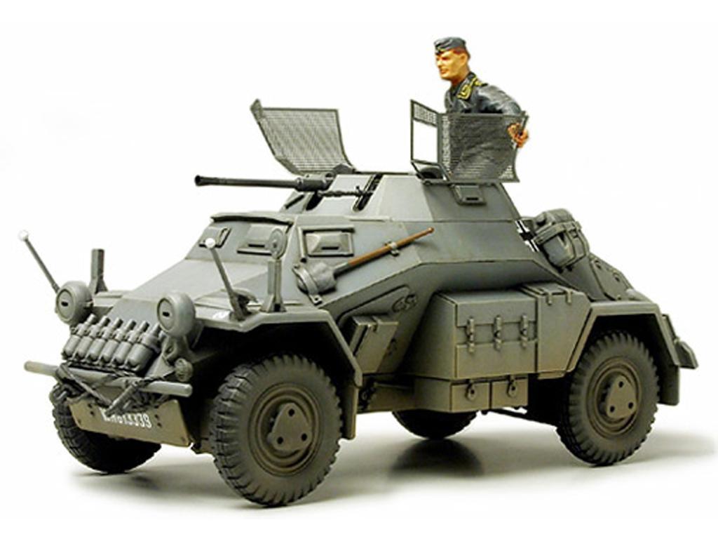 German Armored Car Sd. Kfz. 222 (Vista 2)