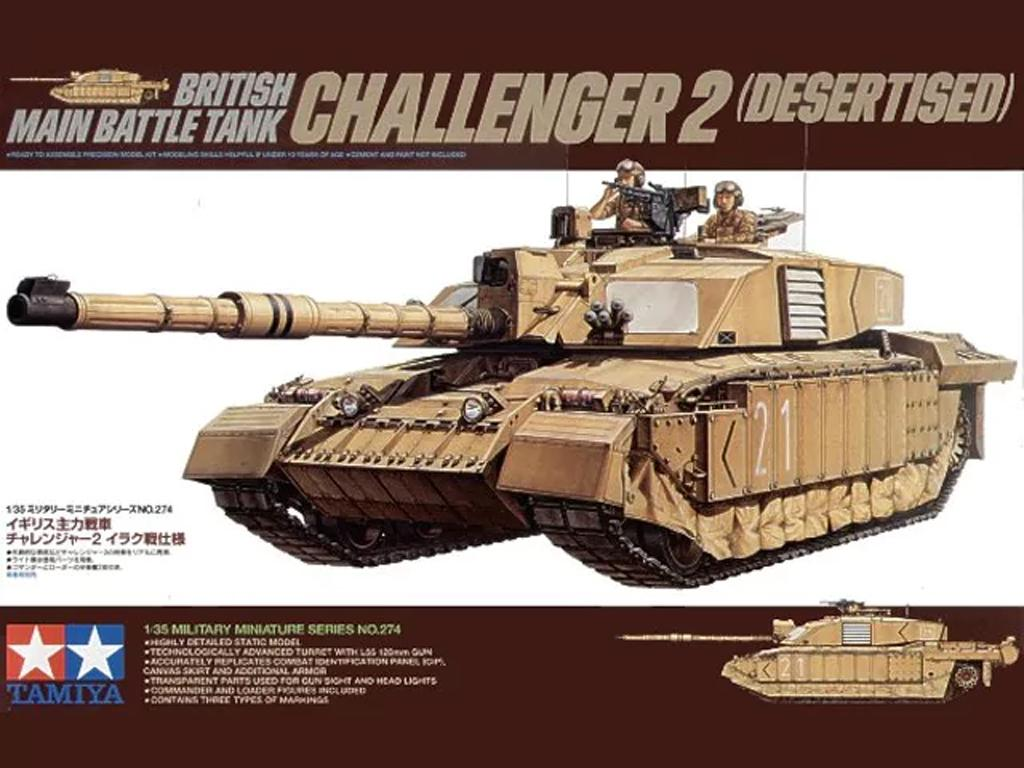 Bristish Challenger 2 (Desertised) (Vista 1)