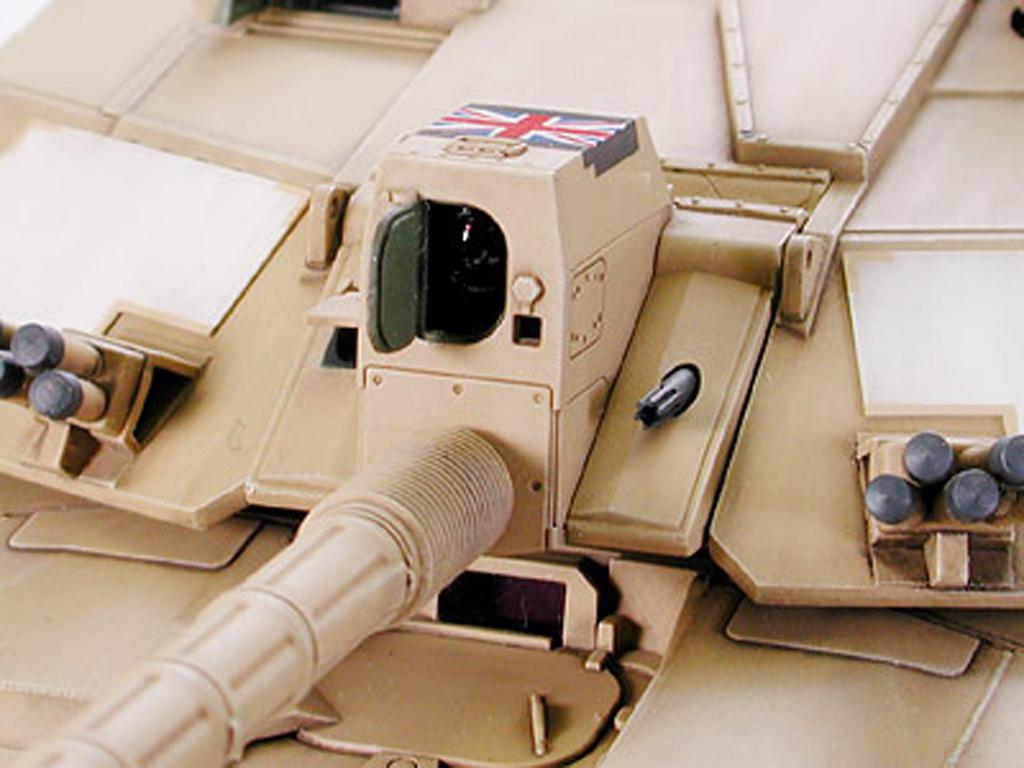 Bristish Challenger 2 (Desertised) (Vista 6)