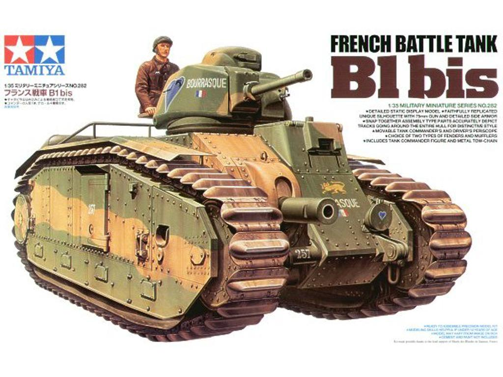 French Battle Tank B1 bis (Vista 1)