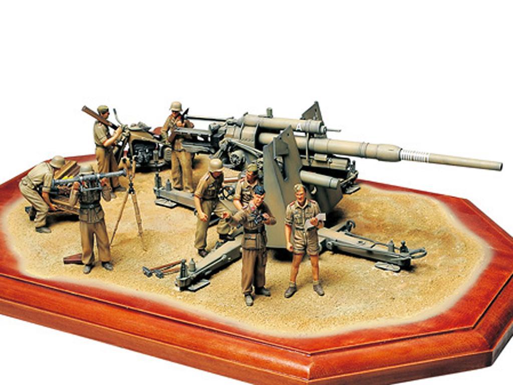 Cañon Aleman  88 mm Flak36 (Vista 5)