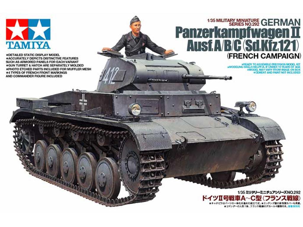 Panzer II Ausf.A/B/C Campaña Frances (Vista 1)