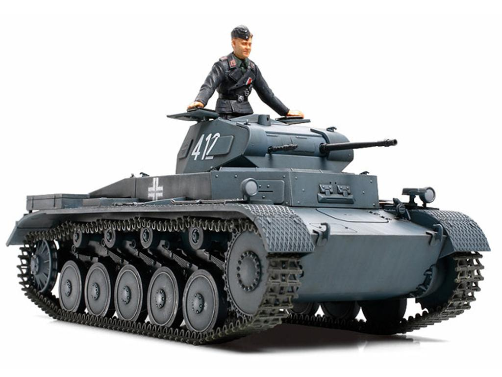 Panzer II Ausf.A/B/C Campaña Frances (Vista 2)