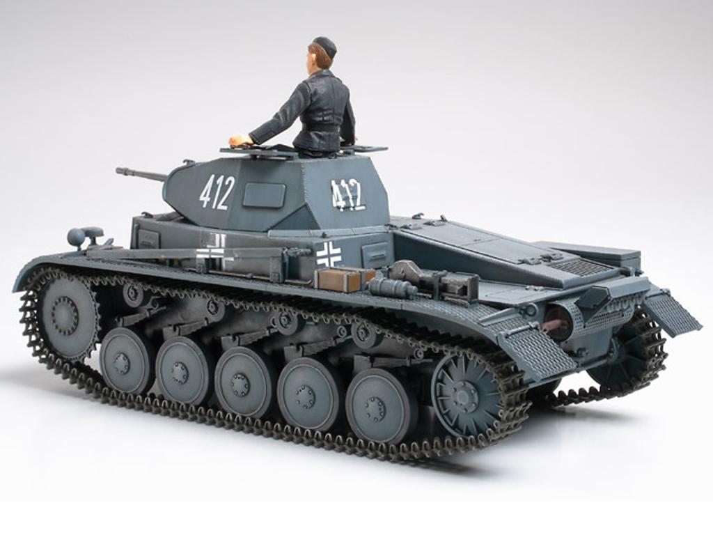 Panzer II Ausf.A/B/C Campaña Frances (Vista 3)