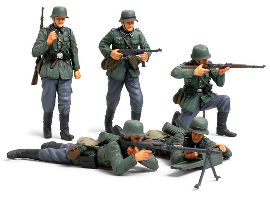 Infanteria Alemana Frente Frances (Vista 2)