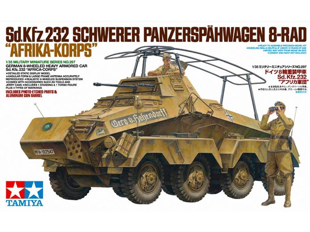 Sd.Kfz.232 Africa-Korps (Vista 1)